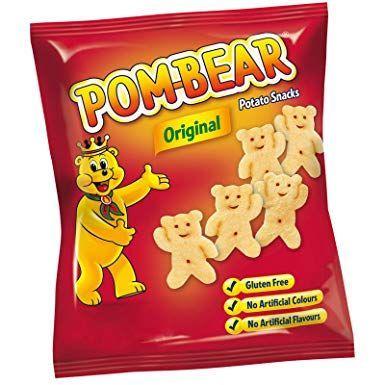30 pack of Original Pombear Potato Snack Crisps - £3 @ Asda