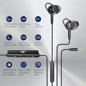 TaoTronics ANC (Active Noise Cancelling) In Ear Earphones with High Awareness Monitoring £31.99 Sold by Sunvalleytek-UK, Fulfilled by Amazon