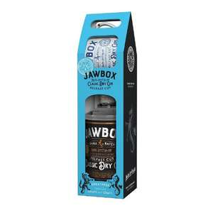 Jawbox Classic Dry Gin Gift Set With Mug Down From £35 to £18.55 at Tesco instore
