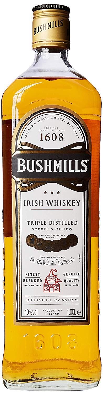 Bushmills Original Irish Whiskey 1L, £20.99 @ Amazon (Deal of the Day)