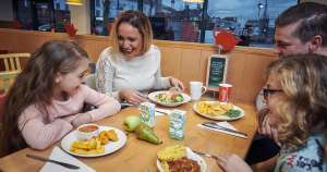 Café meal deal at Morrisons means a family of four can dine for just £10 @ Morrisons