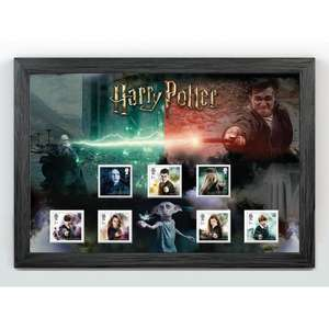 Harry Potter Character Frame Stamps HALF PRICE @ Royal Mail - £19.99