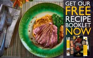 FREE Duck Recipe Booklet - Hardy Copy or eBook (Choose) with Free Signup to Gressingham Duck