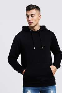 Fleece Hoodie (was £14) Now £7.00 + FREE Delivery - 50% Off Hoodies with prices from £5.00 at Boohooman
