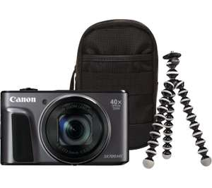CANON PowerShot SX720 Compact Camera & Travel Kit £199 at Currys-with code