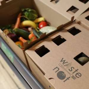 Waste Not Fruit & Veg Box (Too Good to Waste boxes / Wonky) priced £1.50 each @ Lidl