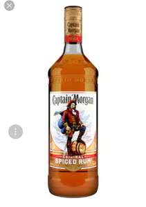 1L Captain Morgan's Spiced Gold Rum @Sainsburys