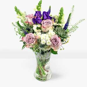 Fresh flowers delivered from £9.99 (Monday - Saturday - FREE DELIVERY) @ B&M