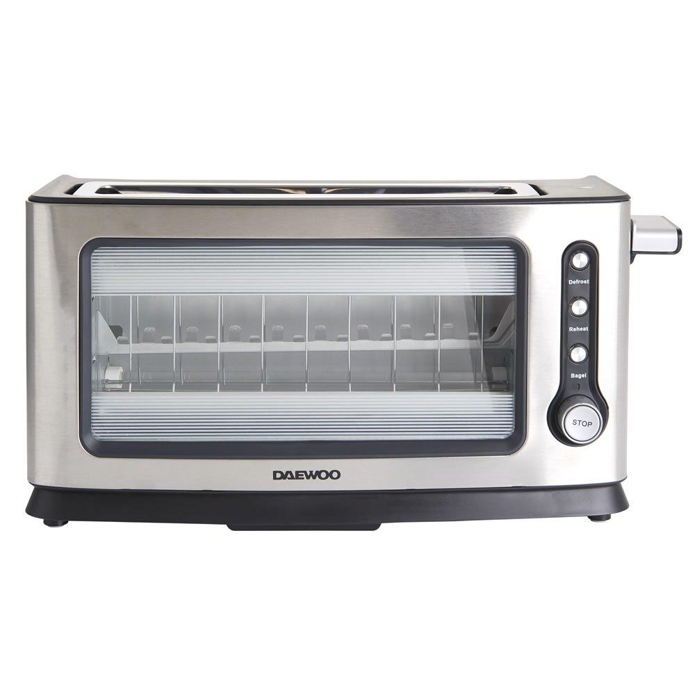 Daewoo SDA1060 900W 2 Slice Transparent Glass Toaster £25 @ Wilko, Free C&C.