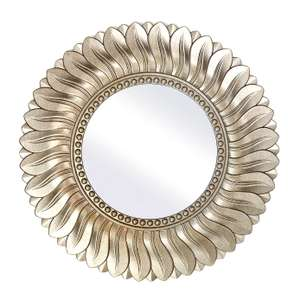 Champagne Leaf Mirror Was £30.00, Now £21.00 free C&C @ Dunelm