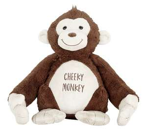 Argos Home Valentine's Day 56cm Tall Monkey Plush £7.50