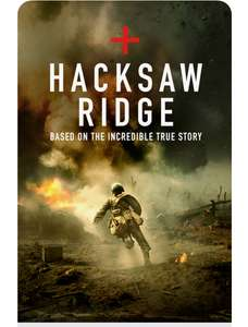 Hacksaw Ridge 4K iTunes for £5.99