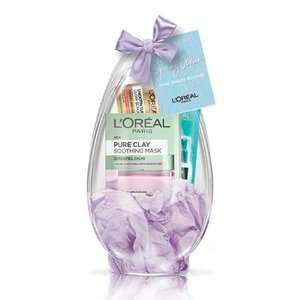 L'Oreal Beauty Easter Egg with full size clay mask £5 with free click and collect @ Superdrug