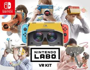Pre-order Nintendo Labo VR from £16.99 - £69.99 (+from £1.99 delivery or spend £20+ for free delivery) @ Nintendo UK Store