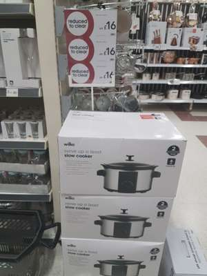 Wilko Slow Cooker 6L was £25 now £16 instore Burgess Hill Wilko