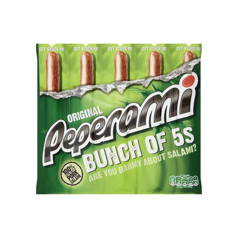 Peperami 5 Pack (5x22.5) - All flavours £1.25 - ASDA