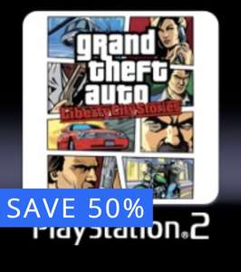 Grand Theft Auto Liberty City Stories. PS2 GTA classic Compatible with PlayStation 3 - £3.99 @ PSN