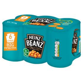 Heinz Baked Beans pack of 12 for £4.92 @ Asda