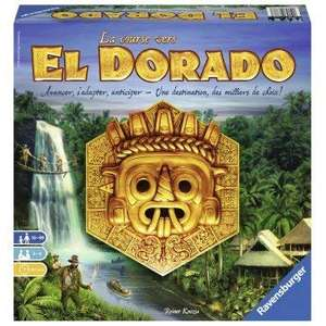 The Quest for El Dorado Board Game (French version) - £23.99 @ Amazon