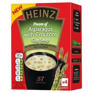 Heinz Asparagus With Croutons Cup Soup Now £0.10 @ B&M