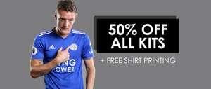 50% Off All Leicester City Kits @ Leicester City Online Club Shop