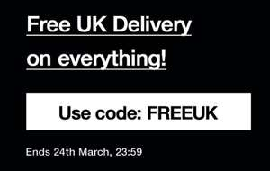Free delivery on all orders at size.co.uk