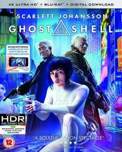 E.T and Ghost in the Shell 4K - £8.99 each (With Code) @ Zoom