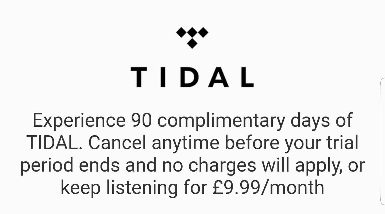 Tidal premium 3 months free trial - hotukdeals
