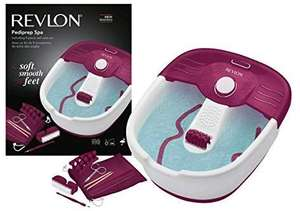 REVLON Pediprep Foot Spa and Pedicure Set with Nine Accessories £19.99 Prime / £24.48 non Prime @ Amazon Deal of the day.