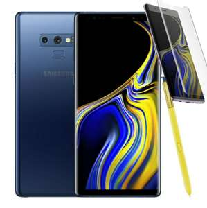 Dual Sim Samsung Galaxy Note 9 6GB/128GB - Ocean Blue + Curved Premium Tempered Glass Screen Protector £504.39 @ Eglobal