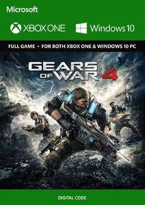 Gears of War 4 Xbox One/PC Play Anywhere £2.49/£2.42 with FB code  @ cdkeys