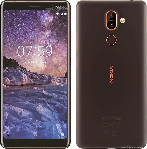 SIM Free Nokia 7 Plus 64GB Mobile Phone - Black/Copper @ Argos for £229.95