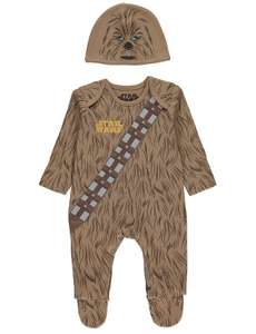 Chewbacca All in One and Hat Outfit £4 free c&c @ Asda (100% cotton)