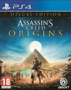 Assassin's Creed: Origins - Deluxe Edition | PlayStation 4 PS4 New for £21.99 Delivered @ Ebay (Itemdropped)