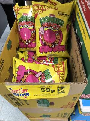 Monster munch beef 98g 59p home bargains