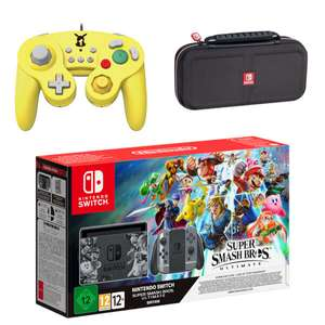 Nintendo Switch Super Smash Bros. Ultimate Edition Pikachu Pack £339.99 @ Nintendo Store