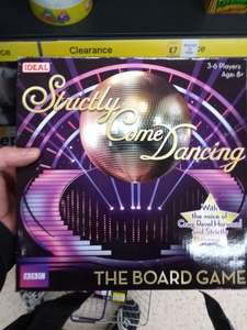 Strictly Board Game by Ideal Clearance item £1.88 - nstore @ Tesco Leicester Hamilton