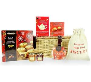 Argos small food Christmas hamper £7.50 (Free C&C)