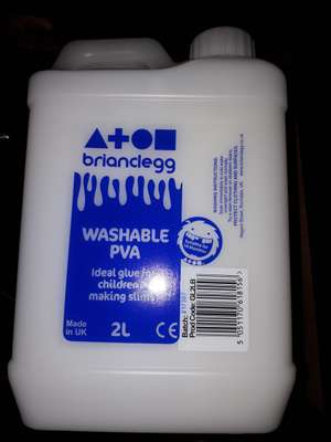 2Litre PVA GLUE £1.50 in-store only at Asda