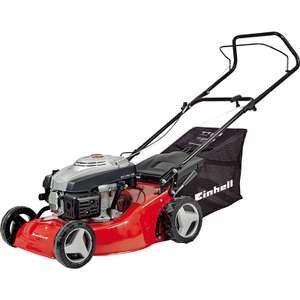 Einhell 139cc 46cm Petrol Lawnmower GC PM46 - was £199 now £139 delivered see OP for Self Propelled Mower Option @ Toolstation
