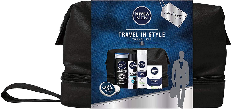 Nivea Men 5 Piece Gift Set RRP £30 NOW £14.14 at Amazon Prime / £18.63 non-Prime