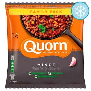 Quorn Mince 500G £1.50 / Birds Eye 10 Fish Fingers £1 (From 19th March) @ Tesco