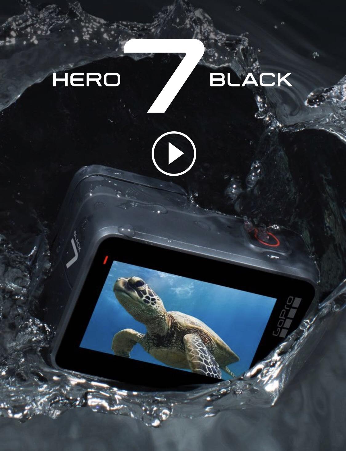 GoPro Hero7 Black £329.99 @ GoPro Shop
