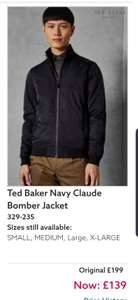 Ted Baker Claude Bomber Jacket £139 in Next Clearance