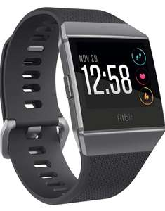Fitbit Ionic Sports Smartwatch, Unisex-Adult, Coal / Cobalt Gray (£170 W/Fee Free Card - £178 Without) @ Amazon Spain