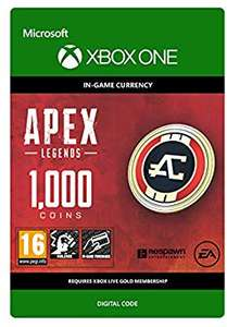 25% off Apex Legends Coins PS4/PC/XBOX @ Amazon from £5.99