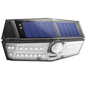 Mpow 30 Waterproof Outdoor LED Solar Lights,Wide Angle Motion Sensor £8.95 (+£4.99 nonprime) Sold by MPOW Direct-sale / FB by Amazon.