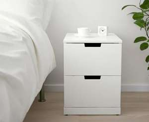 NORDLI Chest of Drawers Range in White - 20% off with IKEA Family Card @ IKEA