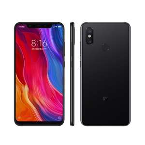 "Xiaomi Mi 8 6GB RAM 128GB ROM Global Version Phone Snapdragon S845 6.21"" Octa Core 2248*1080 NFC Black Smartphone @ Growing store/aliexpress"