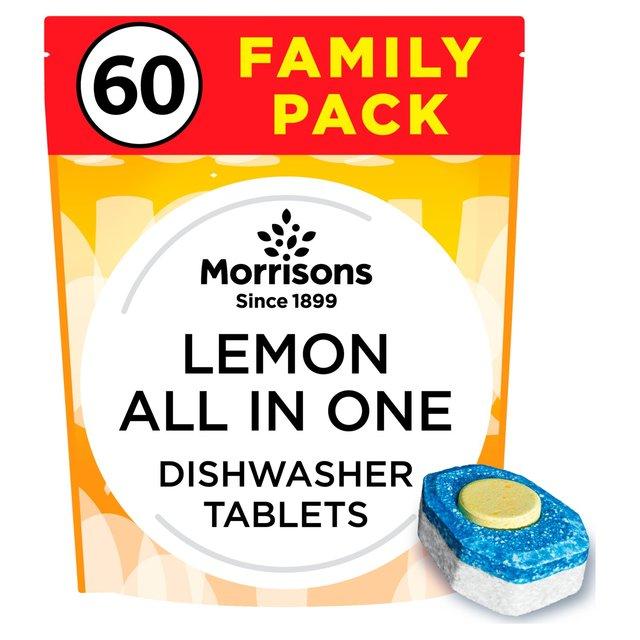 Morrisons Dishwasher Tablets 60 for £5 (8p per Tablet)